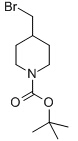 tert-Butyl 4-(bromomethyl)piperidine-1-carboxylate Chemical Structure