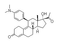 Ulipristal Chemical Structure