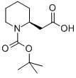 (S)-(1-Boc-piperidin-2-yl)acetic acid Chemical Structure