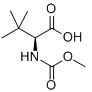 Methoxycarbonyl-L-tert-leucine Chemical Structure