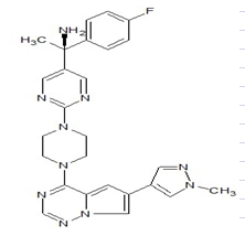 Avapritinib Chemical Structure