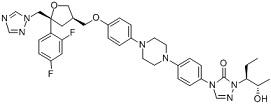 Posaconazole Chemical Structure