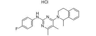 Revaprazan Hydrochloride Chemical Structure