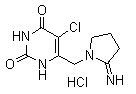 Tipiracil HCl Chemical Structure