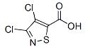 3,4-Dichloroisothiazole-5-carboxylic acid Chemical Structure
