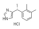 Levomedetomidine Hydrochloride Chemical Structure