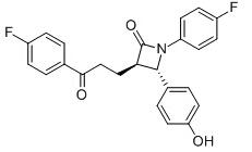 Ezetimibe Ketone Chemical Structure