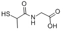 Tiopronin Chemical Structure