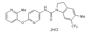 SB 243213 dihydrochloride Chemical Structure