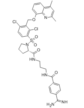 Anatibant Chemical Structure