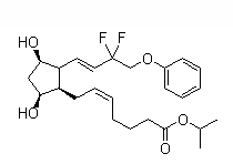 Tafluprost Chemical Structure