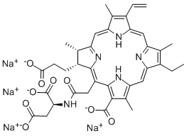 Talaporfin Sodium Chemical Structure