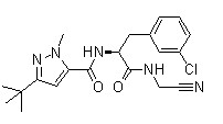 Cathepsin Inhibitor 1 Chemical Structure