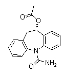 Eslicarbazepine acetate Chemical Structure
