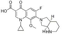 Moxifloxacin isoMer Chemical Structure