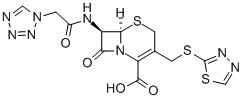 Ceftezole Chemical Structure