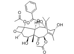 Baccatine III Chemical Structure