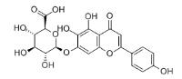 Scutellarin Chemical Structure