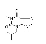 IBMX Chemical Structure