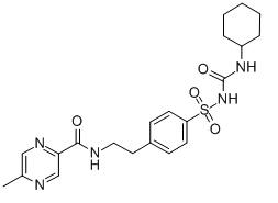 Glipizide Chemical Structure