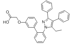 FABP4 Inhibitor Chemical Structure