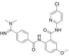 Betrixaban Chemical Structure