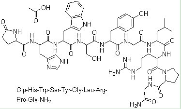 Gonadorelin Acetate Chemical Structure