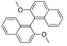 (R)-(+)-2,2'-Dimethoxy-1,1'-binaphthalene Chemical Structure