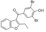 Benzbromarone Chemical Structure