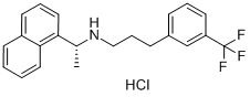 Cinacalcet HCl Chemical Structure