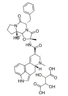 Ergotamine Tartrate Chemical Structure