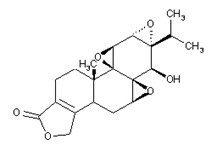 Triptolide Chemical Structure