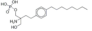 Fingolimod phosphate Chemical Structure
