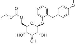 Sergliflozin Etabonate Chemical Structure