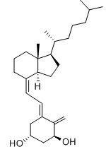 Alfacalcidol Chemical Structure