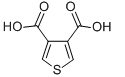 3,4-Thiophenedicarboxylic acid Chemical Structure