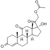 Cortisone Acetate Chemical Structure