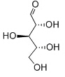 D-Ribose Chemical Structure