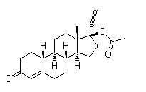 Norethindrone Acetate Chemical Structure