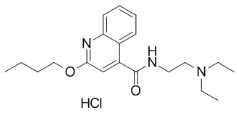 Dibucaine HCl Chemical Structure