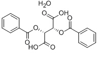 (-)-Dibenzoyl-L-tartaric acid monohydrate Chemical Structure