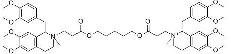 Atracurium Chemical Structure