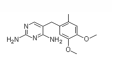 Ormetoprim Chemical Structure