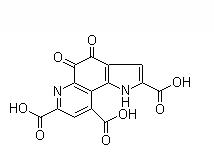 Pyrroloquinoline quinone/PQQ Chemical Structure