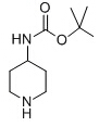 4-N-BOC-Aminopiperidine Chemical Structure