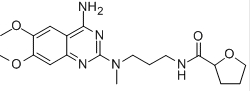 Alfuzosin hydrochloride Chemical Structure