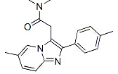 Zolpidem Chemical Structure