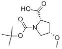 (2s,4s)-4-methoxy-pyrrolidine-1,2-dicarboxylic acid 1-tert-butyl ester Chemical Structure
