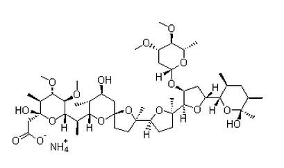 Maduramycin ammonium Chemical Structure