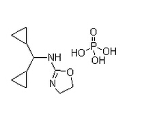 Rilmenidine phosphate Chemical Structure